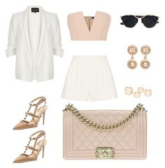 """""""..."""" by princessdawn on Polyvore featuring 3.1 Phillip Lim, River Island, Balmain, Chanel, Christian Dior and Valentino"""