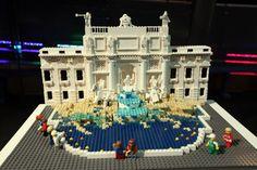 Lego fontana di trevi