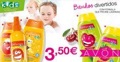 As crianças vão adorar! Os aromas fantásticos e as embalagens amorosas vão tornar os banhos muito mais divertidos.
