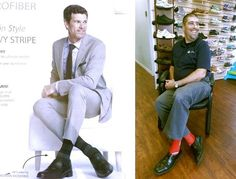 I can't tell the difference can you tell the difference? Get ready to hit the gym, road or field sporting the newest shades of the SIGVARIS Performance Socks. Get them here at (Milton Orthotic & Wellness Centre) Visit www. Centre, Socks, Shades, Wellness, Gym, Blazer, Jackets, Fashion, Down Jackets