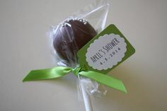Project Nursery - Cake Pops with Mini Dessert Tags