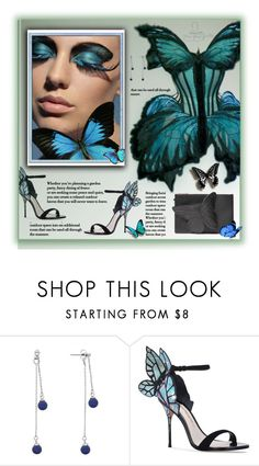 """""""Butterfly Gaultier"""" by fassionista ❤ liked on Polyvore featuring Matthew Williamson, Jean-Paul Gaultier and Sophia Webster"""