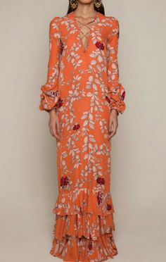Get inspired and discover Johanna Ortiz trunkshow! Shop the latest Johanna Ortiz collection at Moda Operandi. Boho Fashion, Womens Fashion, Fashion Design, Fashion Trends, Dress Skirt, Dress Up, Kaftan, Embellished Dress, Tight Dresses