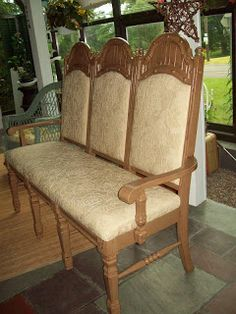 how to make a bench from two chairs bench tutorials and create