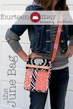 Image detail for -fourteen may — June Bag, Mini Messenger Bag Sewing Pattern PDF