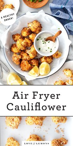 Air Fryer Cauliflower Recipe - Love and Lemons