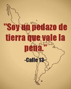 #Calle13 Latinoamerica.