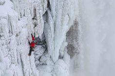 My pair of Ice Climbers to ascend frozen niagara falls...  http://news.nationalgeographic.com/news/2015/01/150129-niagara-falls-ice-climb-first-ascent-red-bull-canada-gadd/
