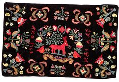 Swedish woolen embroidery