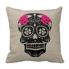 Time for some #holiday #decorating with a #trendy #hipster #Sugar #Skull