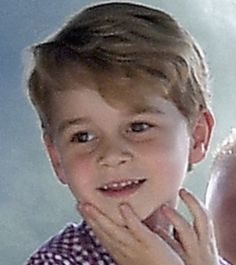Johnny Goldsmith (@MirrorJohnny) on Twitter: Prince George, July 21, 2017, the day before his 4th birthday on July 22, 2017 (b. July 22, 2013)
