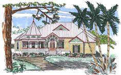 Authentic English period style home plan! Full set of plans for $1,572.00