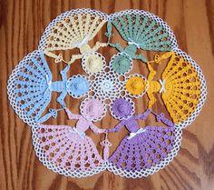 Crochet Circle of Friends Crinoline Doily