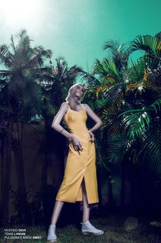 "cool Bloginvoga Exclusives | Carolina Heráclio by Bruno Barreto in ""Backyard""  [editorial]"