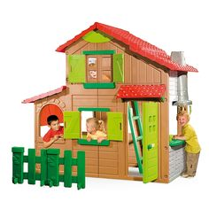 "Smoby - Maison Floralie Duplex - Exclu Web - Smoby - Toys""R""Us"