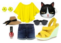"""""""Summer holiday"""" by ydnshoes ❤ liked on Polyvore featuring 3x1, Le Specs, Eugenia Kim and Sabbadini"""