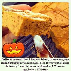 torta de auyama (calabaza)