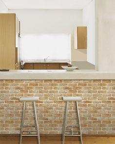 Decowall brick wallpaper
