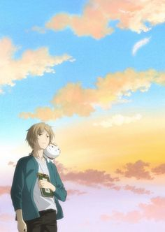 The anime series based on Yuki Midorikawa's Natsume Yujin-cho/Natsume's Book of Friends fantasy manga celebrates its anniversary this year. Anime Films, Anime Characters, Manga Anime, Anime Art, Natsume Takashi, Barakamon, Hotarubi No Mori, Friend Anime, Natsume Yuujinchou