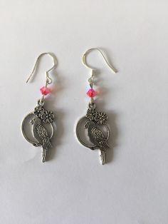 Boucles d'oreilles breloque métal Swarovski : Boucles d'oreille par…