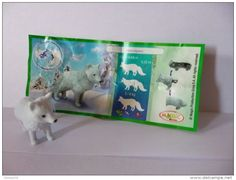 MAGIC KINDER SURPRISE Natoons Arctic Fox VULPES LAGOPUS Mini Toy TR 004 + BPZ