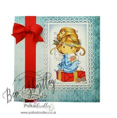 Morning all today I have a pretty Christmas card to share with you using Winnie Winterland Fairy . The backing paper and sentiment are fro...