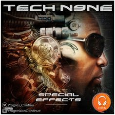 """Tech N9ne - Special Effects (2015) // Tech killed it as usual on this album. Everybody knows the hits but it's the tracks like """"A certain comfort"""" and """"lacrimosa"""" that make this album what it is... deep and mostly from the heart and soul of Tech N9ne. Bravo sir. #tech #n9ne #rap #album #strange #music"""