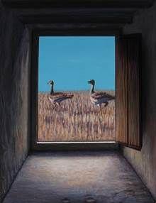 """video del cuadro en movimiento, de la exposición de Chirri en la galeria Alemi en León hasta el 26 de febrero """"CRUCE DE CAMINOS"""" Plaza de San Marcelo 11"""