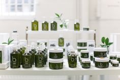 Bamfords resplendent products on display at our pop-up shop. #obww #bamford #wellness #spa #spabrand #wellbeing #organic #organicbeauty #beauty #skincare
