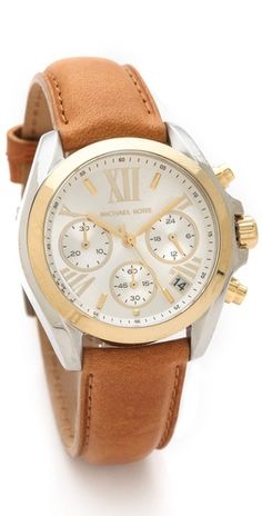 I think i.'ll buy this to me from me for my bday this week!!!! Michael Kors Bradshaw Watch
