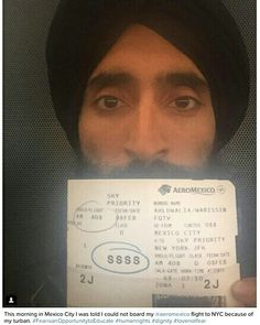Sikh Vogue condemns racial discrimination against Sikh Gentleman and well known Designer Waris Ahluwalia. Sikhs has been misidenitified and facing racial discrimiation and attacks since many years. The Mexico and US concern authorities must understand the need of the hour and should pull up their socks in tackling such matters and to make sure rights of the minority community should be protected and  efforts should be made to educate about the tolerance and  harmony lessons to such fringe…