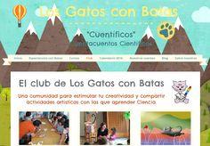 """Crea y aprende con Laura: Los Gatos con Batas. """"El método cuentífico"""" @gatos..."""