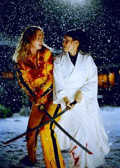 Kill Bill Vol.1 (2003) by Quentin Tarantino with Uma Thurman, Lucy Liu, David Carradine, Daryl Hannah, Michael Madsen...