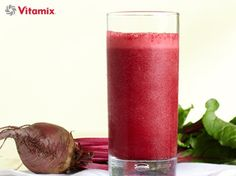 Vitamix Recipes. Vegan Sweet Beet, Strawberry & Cranberry Smoothie. This is an purifying antioxidant blast! Gorgeous red colour and divine flavour!