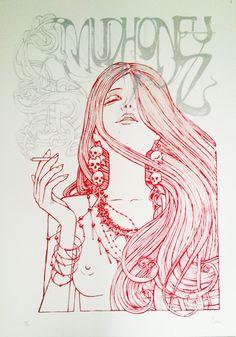 MUDHONEY 2013 - VARIANT EDITION by Malleus Rock Art Lab
