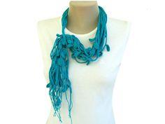 PDF Tutorial Pattern Cotton Crochet Lariat by accessoriesbynez $4.75