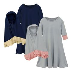 Girls Kaftan, Girls Maxi Dresses, Kids Abaya, Muslim Long Dress, Muslim Swimwear, Kaftan Abaya, Hijab Dress, Maxi Dress With Sleeves, Hijab Fashion