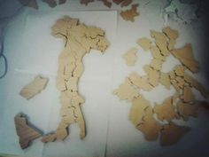 Behind-the-scenes: We had a woodworker in Iowa make a custom wooden cut out puzzle of Italy for one of our stories in our September Italian Issue. #RRItaly  —@Elliot Stokes, Designer
