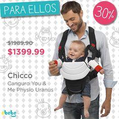 Da clic en la foto y aprovecha el descuento! #papa #bebe #canguro #mexico www.ebebe.mx