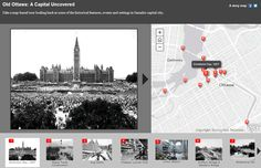 Old #Ottawa: the capital of Canada uncovered. A charming #storymap tour