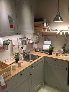 12 best knoxhult kitchen images in 2018 Kitchen Plates Set, Kitchen Sets, New Kitchen, Ikea Kitchen Units, Small Kitchen Cabinets, Apartment Kitchen, Kitchen Interior, Kitchen Design, Interior Modern