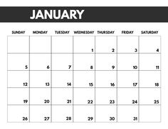 Collect Large Printable January 2020 Calendar Fill In large printable january 2020 calendar fill in Free Printable January 2020 Calendar - 7261 2020 Free Monthly Calendar Template - Paper Trail Design - Blank Monthly Calendar Template, Blank Calendar Pages, Free Printable Calendar Templates, Printable Blank Calendar, Print Calendar, Yearly Calendar, Monthly Calendars, Calendar Ideas, Monthly Planner