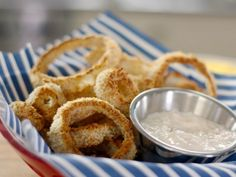 Baked Onion Rings by Bobby Deen