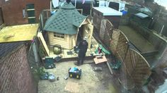 BBQ Hut Construction 2016