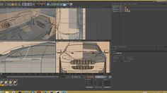 cinema4d car modelling on Vimeo
