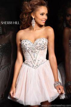 Sherri Hill Short 21156 at Prom Dress Shop