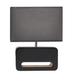 Zuiver Lamp Wood Black