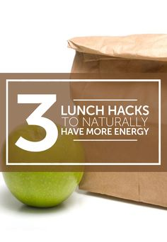 3 Lunch Hacks To Naturally Have More Energy. Inside this article, you will learn 3 herbs you can add to your lunch that will give you more energy in the afternoons and help you beat the mid-day crash. Herbs For Energy, Good To Know, Essential Oils, Lunch, Hacks, Canning, Day, Nature, Eat Lunch