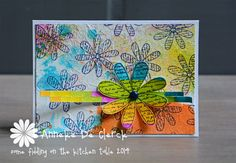 Some fiddling on the kitchen table: Take It Make It Challenge September