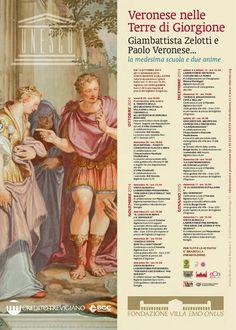 DAL 12 OTTOBRE 2014 - ALL'11 GENNAIO 2014: #Veronese nelle terre del #Giorgione: #concerti - visite guidate - #mostra di affreschi - #laboratori per bambini - #conferenze, ecc. a #villaEmo